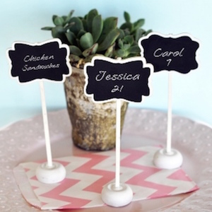 Baby Shower Place Cards And Holders