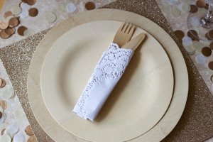 Wedding Bamboo Tableware