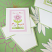 Flowers in Bloom Seed Packets with Flower Pot Card
