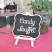 Framed Chalkboard Table Easels 2