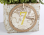 Travel and Adventure Gold Foil Table Numbers