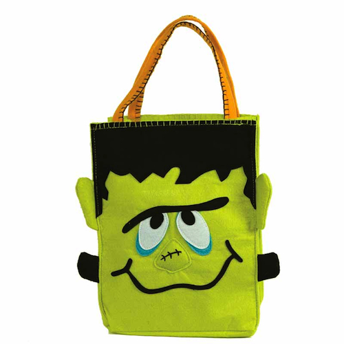 Groovy Frankenstein Trick or Treat Bag - Ecopartytime