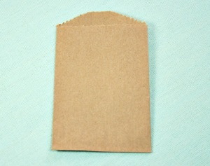 Plain Brown Kraft Little Bitty Bags