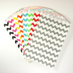 Chevron Middy Bags - Available in Multiple Colors