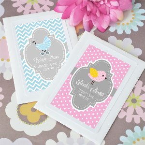 Baby in Bloom Personalized Shower Seed Packets