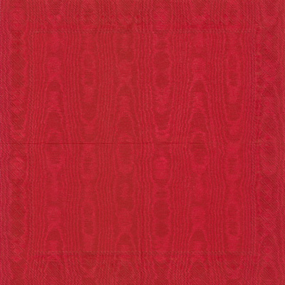 Moiree Red Lunch Napkin - 20 napkins per package
