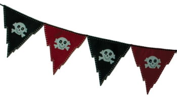 Pirate Felt Banner-5.5' long
