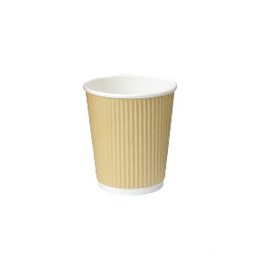 Rippled Khaki Mini Hot cups- 4 oz- pack of 50