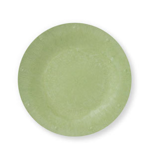 """Green Solid Color Plate - Available in 7""""size - Pack of 25"""