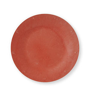 """Red Solid Color Plate - Available in 7"""" - Pack of 25"""