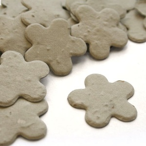 Five Petal Plantable Confetti - Dove Grey - 350 Pieces