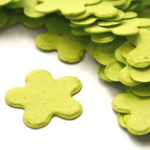 Five Petal Plantable Confetti - Lime Green - 350 Pieces