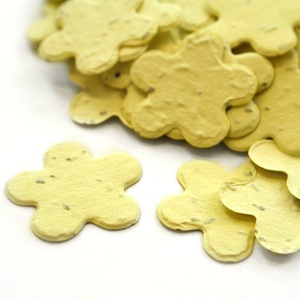 Five Petal Plantable Confetti - Yellow - 350 Pieces