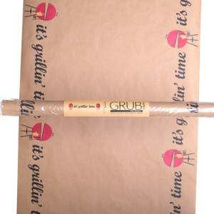 Grilling Time Table Paper Roll - 32 ft long