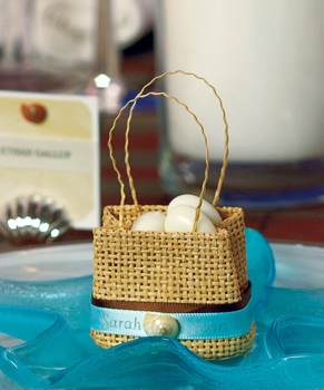 Natural Mini Woven Beach Bags - Set of 6 - as low as $5.34