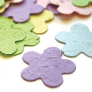Five Petal Plantable Confetti - Assorted Colors - 350 Pieces