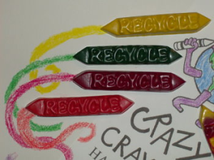 "Crazy Crayons ""Recycle"" Crayon Sticks (Pack of 10)"
