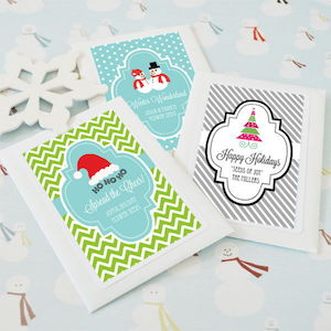 Personalized Winter Seed Packets - As Low As $1.22 Each