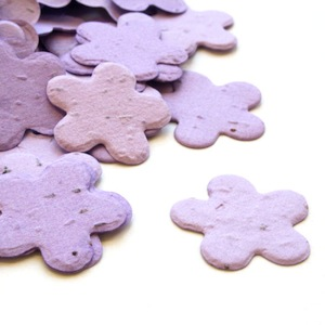 Five Petal Plantable Confetti - Lavender - 350 Pieces