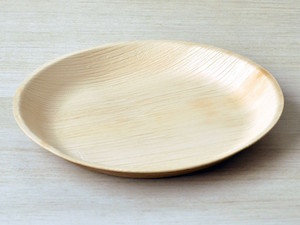 "Round 10"" Palm Leaf Plates with High Rim- Pack of 25"