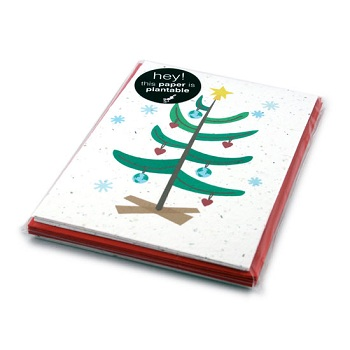 Love the Earth Plantable Christmas Cards Set