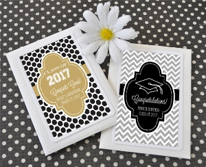 Hats off to You Personalized Graduation Seed Packets