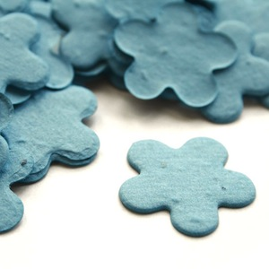 Five Petal Plantable Confetti - Cornflower Blue - 350 Pieces