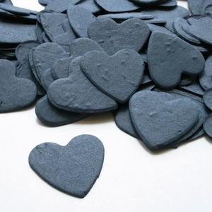 Heart Plantable Confetti - French Blue - 350 Pieces