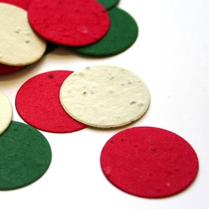 Christmas Circle Eco Confetti