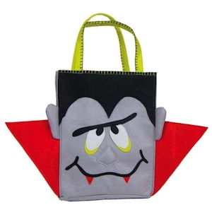 Groovy Vampire Trick or Treat Bag