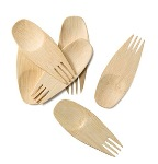 Bambu All Occasion Veneerware Sporks (Set of 24)