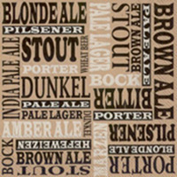 Beer Names Cocktail Napkins - Pack of 20