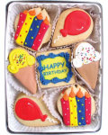 Birthday Celebration Organic Cookie Gift Set