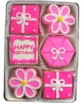 Birthday Girl Organic Cookie Gift Set