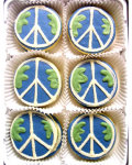 Peace on Earth Organic Cookie Gift Set