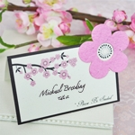 Please Be Seeded Cherry Blossom Plantable Seed Place Cards (set of 12)