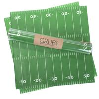 Football Field Food Grade Paper- Set of 12 sheets
