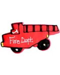Fire Truck Party Favor Organic Cookie