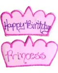 Princess Crown Party Favor Organic Cookie