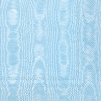 Moiree Light Blue Lunch Napkin - 20 napkins per package