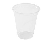 Compostable Clear Cold Cups - Pack of 50 - 10 oz.