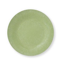 "Green Solid Color Plate - Available in 7"" and 10"" size - Pack of 25"