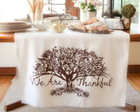 Thanksgiving Table Banner