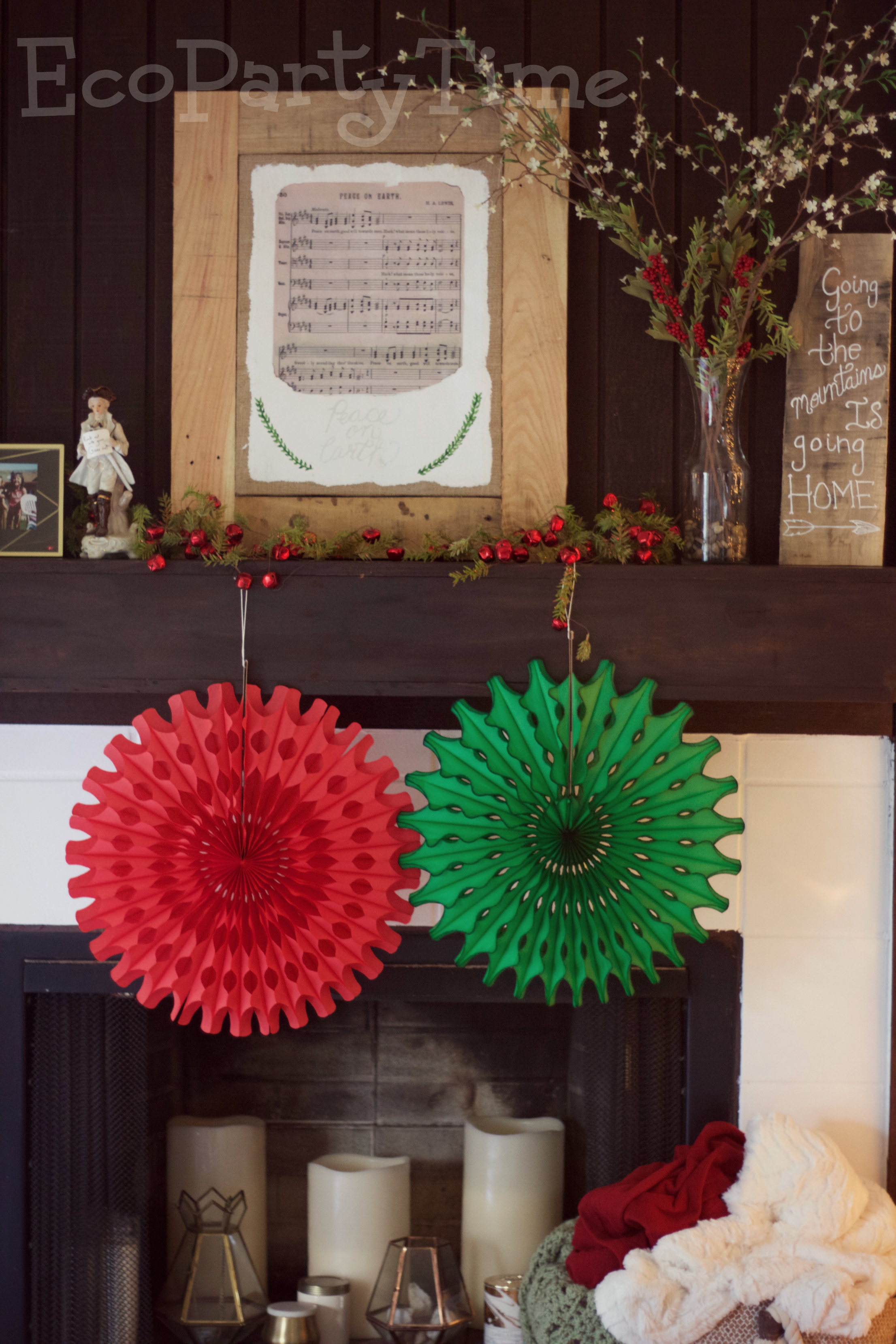 Ecopartytime: Eco-Friendly Christmas Decor