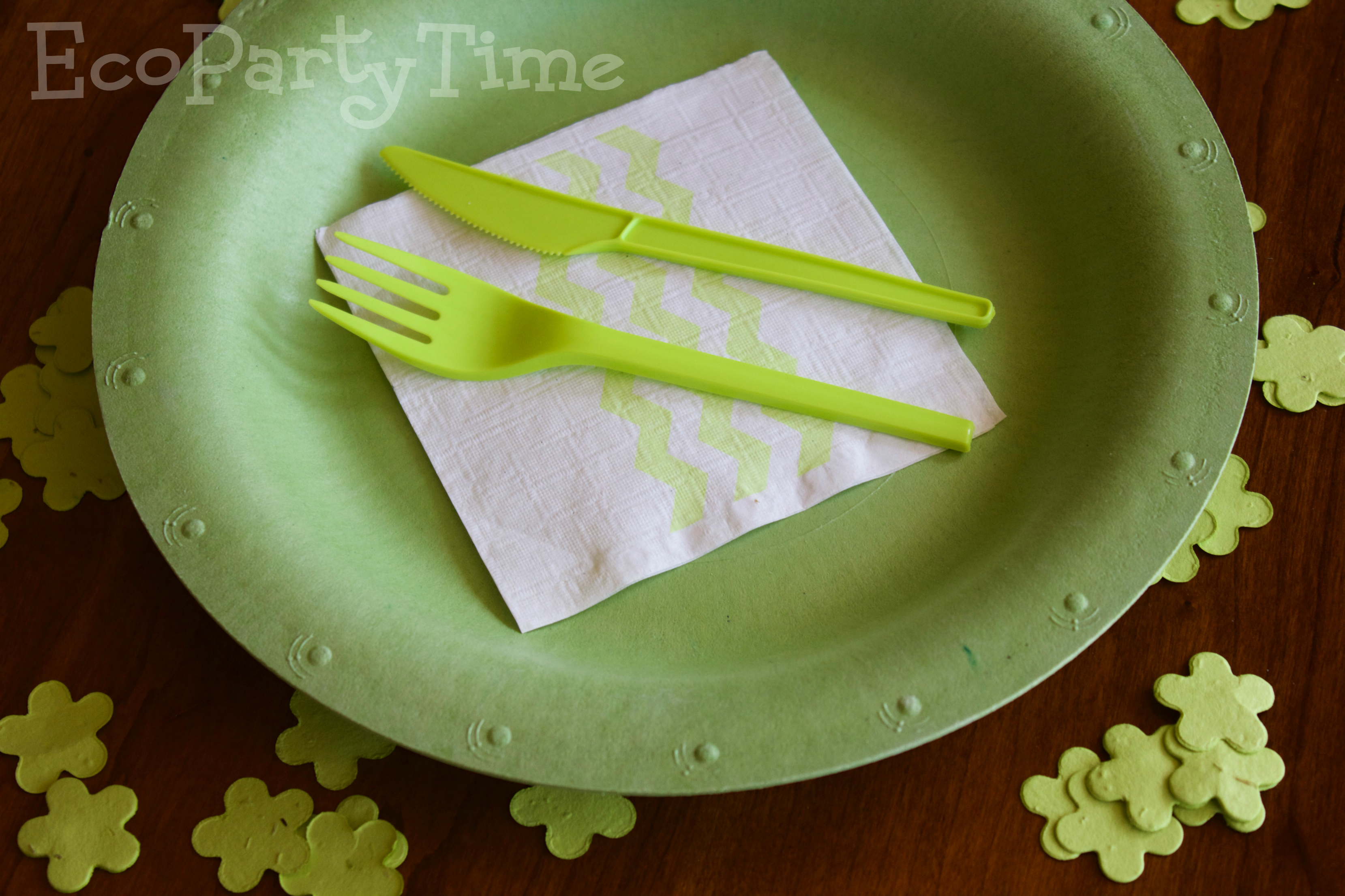 Ecopartytime Eco-Friendly Colored Tableware & Eco Friendly Colored Tableware - Ecopartytime
