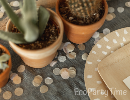 Ecofriendly Paper Confetti-Ecofriendly DIY Baby Shower