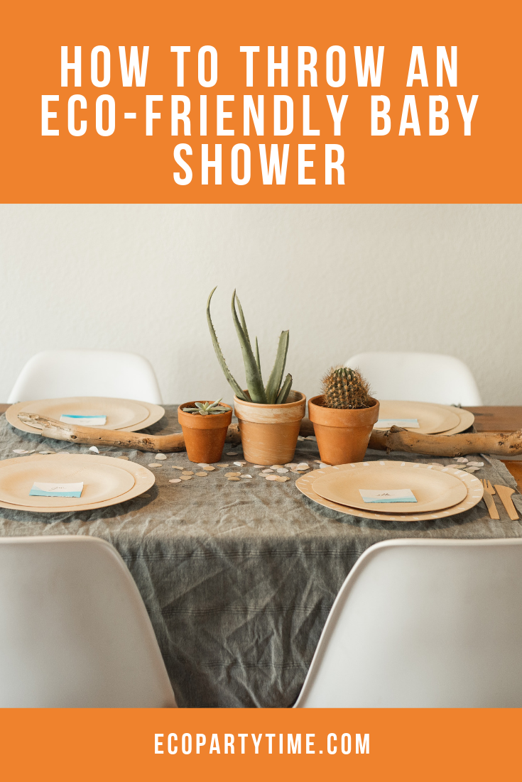Ecofriendly Baby Shower Party Ideas