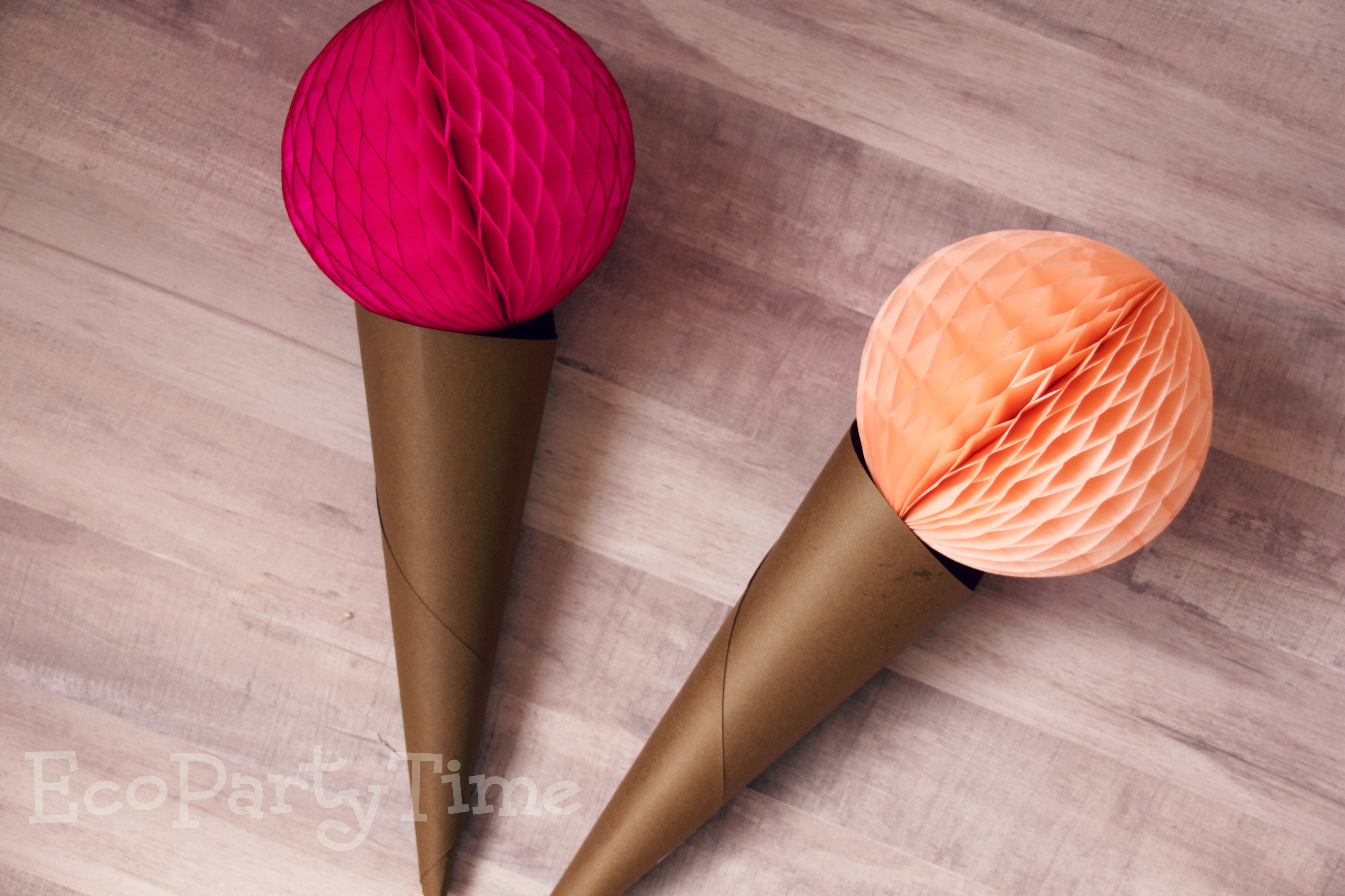 Ecopartytime: Fun Uses for Tissue Balls and Fans