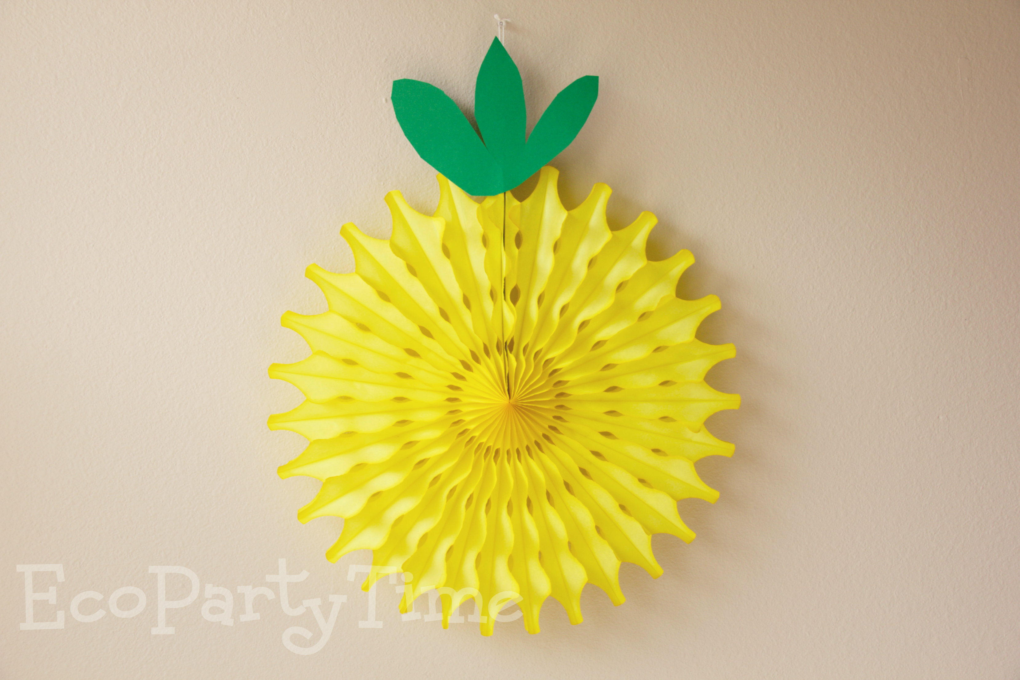 Ecopartytime: Fun Uses for Tissue Fans and Tissue Balls