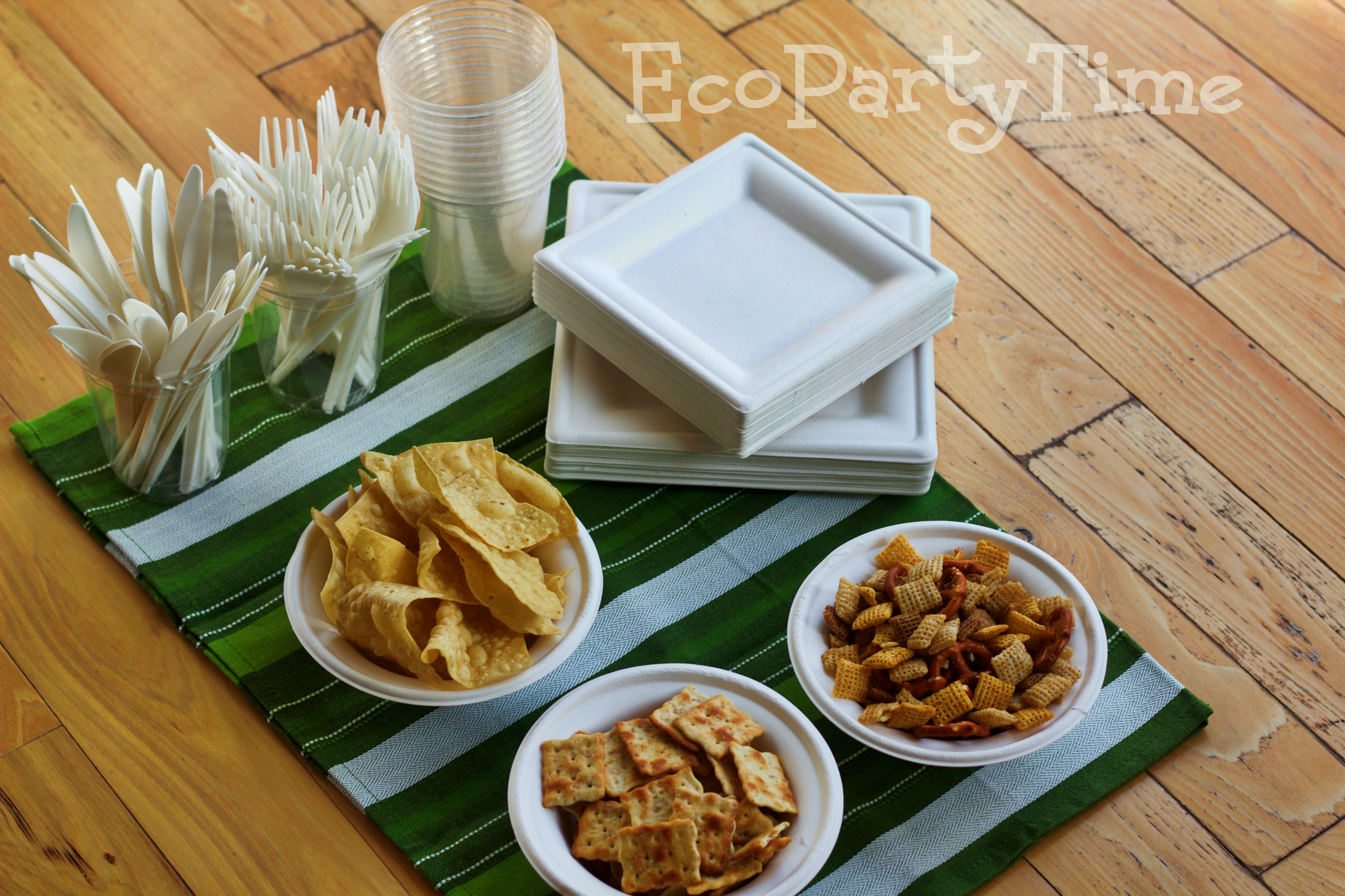 Ecopartytime: Green Your Superbowl Party